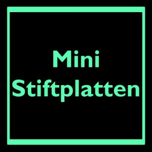 Mini Stiftplatten