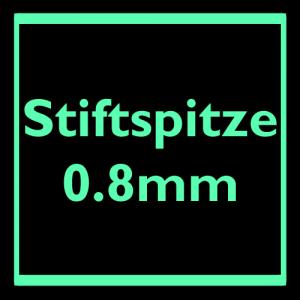 Stiftspitze 0.8mm