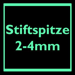 Stiftspitze 2-4mm