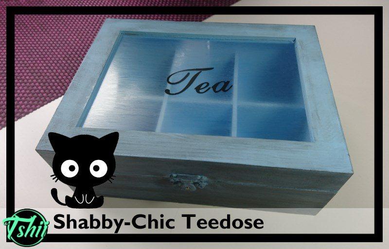 DIY Shabby Chic Teedosen