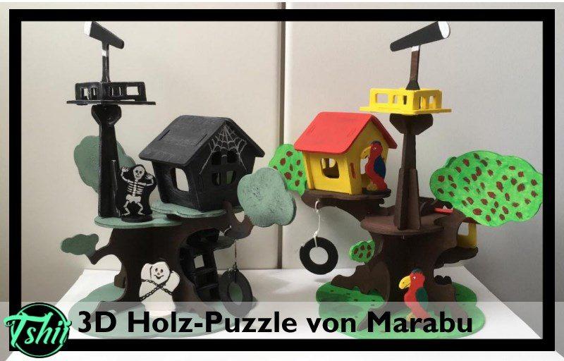 3D Puzzle aus Holz